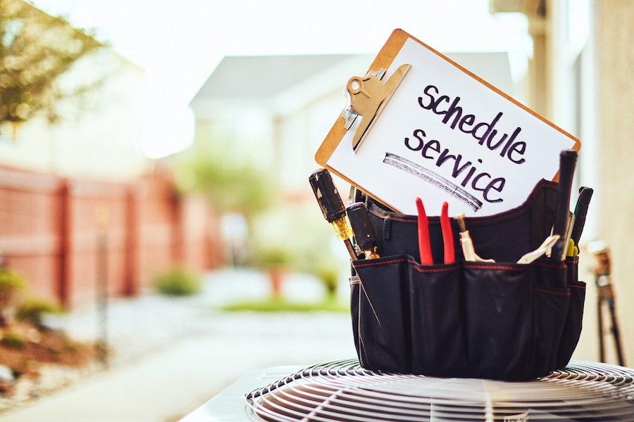 Schedule AC service tool box