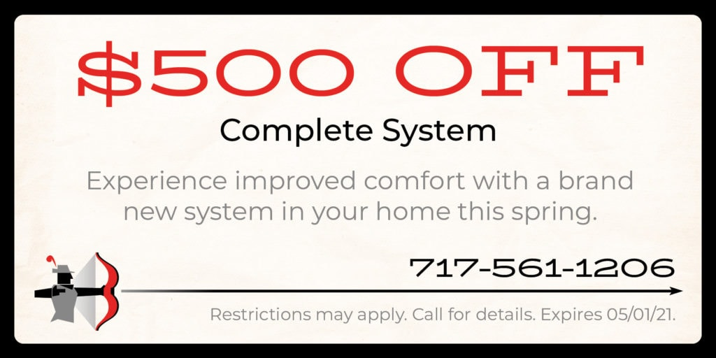 $500 off complete system