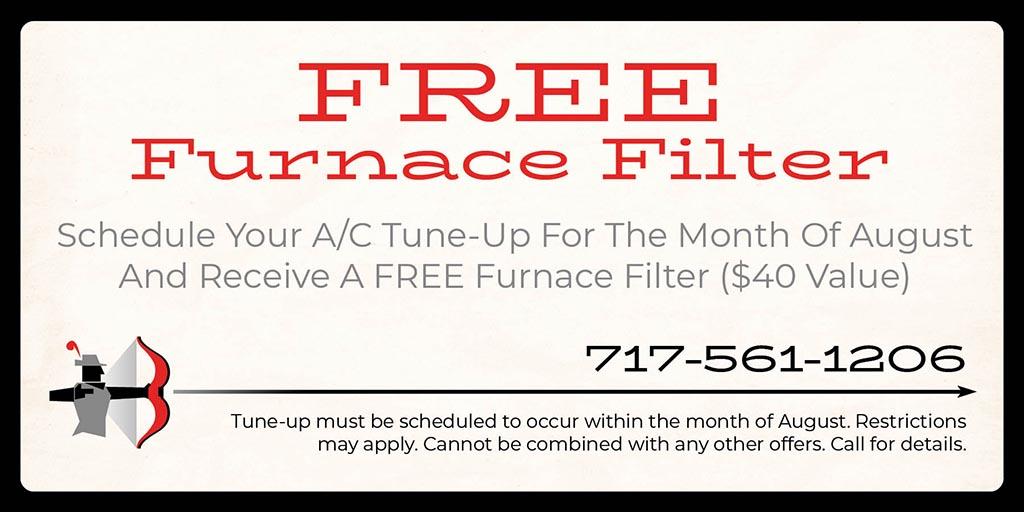 free furnace filter