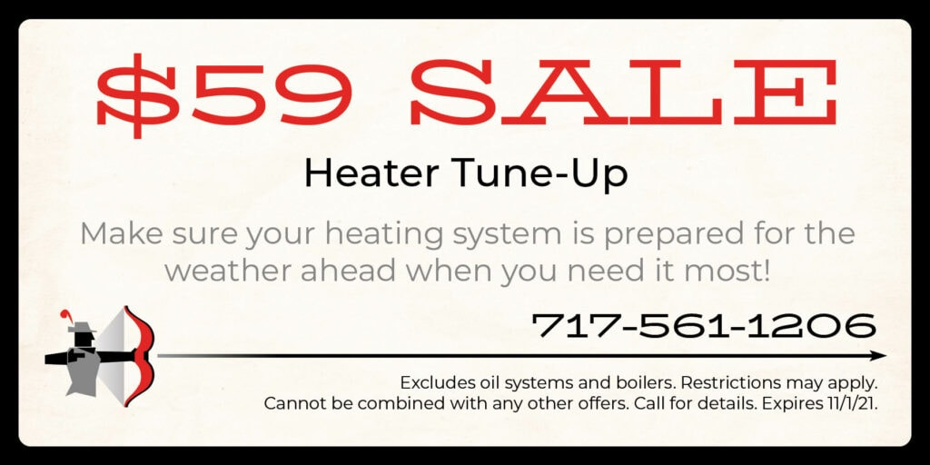 $59 heater Tune Up Coupon