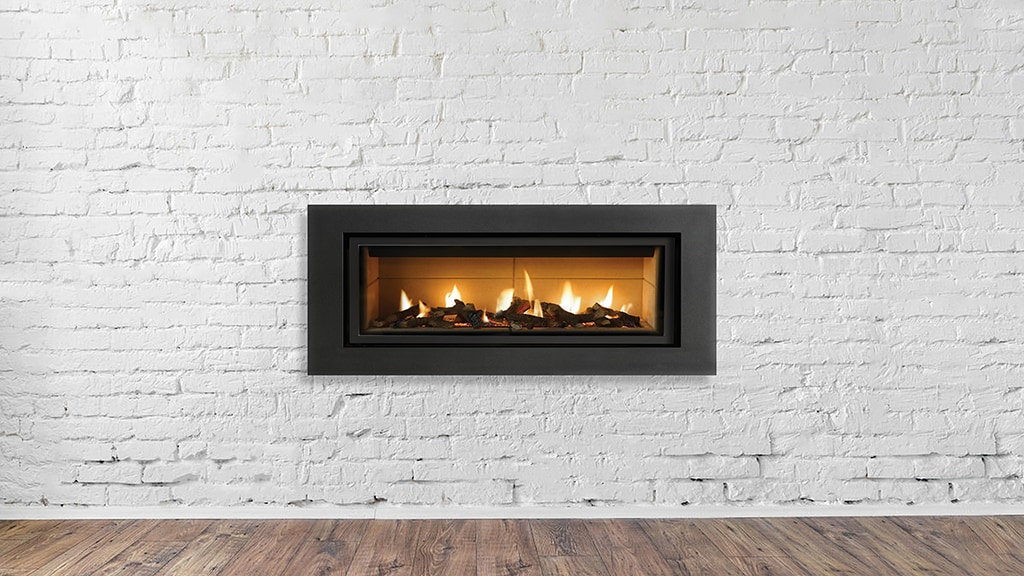 Gas fireplace service.
